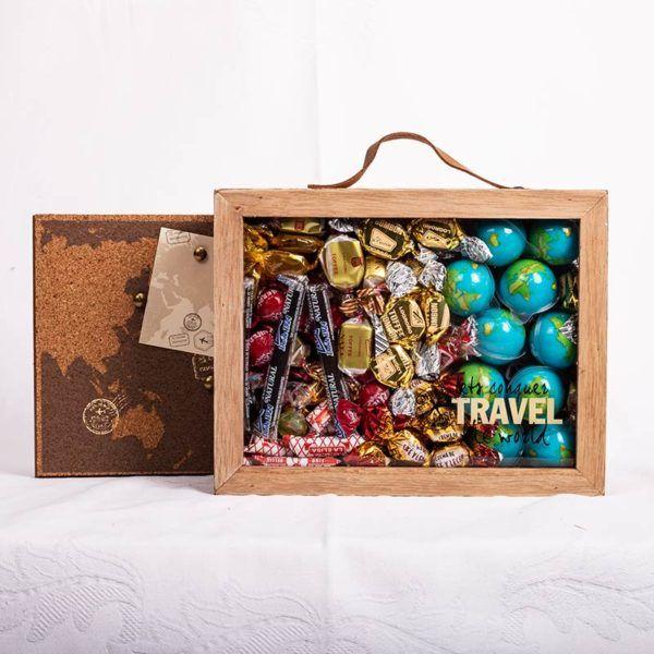 caja de chocolate para regalar